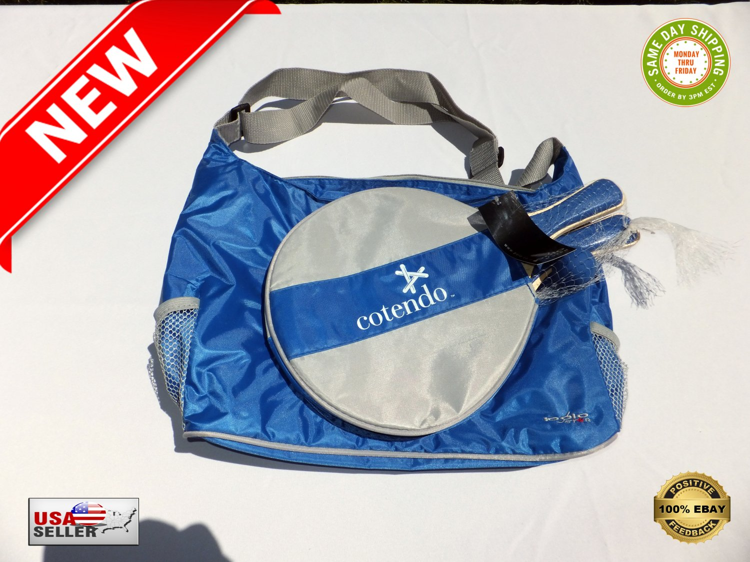 � Polo Star AP786A Outdoor / Camping / Beach Cooler Bag With Ping-Pong Gaming Set �