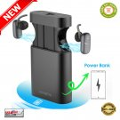 ★ Wireless Bluetooth 5.0 Earbuds Auto Lifting System + 5000mAh Power Bank Combo ★