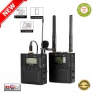★ Pixel WM-9 50-Channel Professional UHF Wireless Lavalier Microphone System - NEW ★