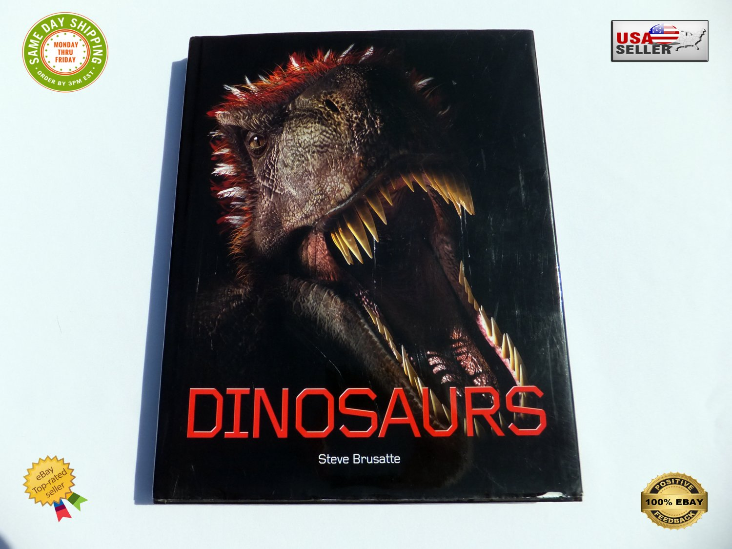 � Dinosaurs By Steve Brusatte Very Large Book Quercus 170 Species - Hardcover �