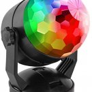 ★ Sound Activated Portable RGB Party Lights Outdoor/Indoor Battery/USB Powered  ★