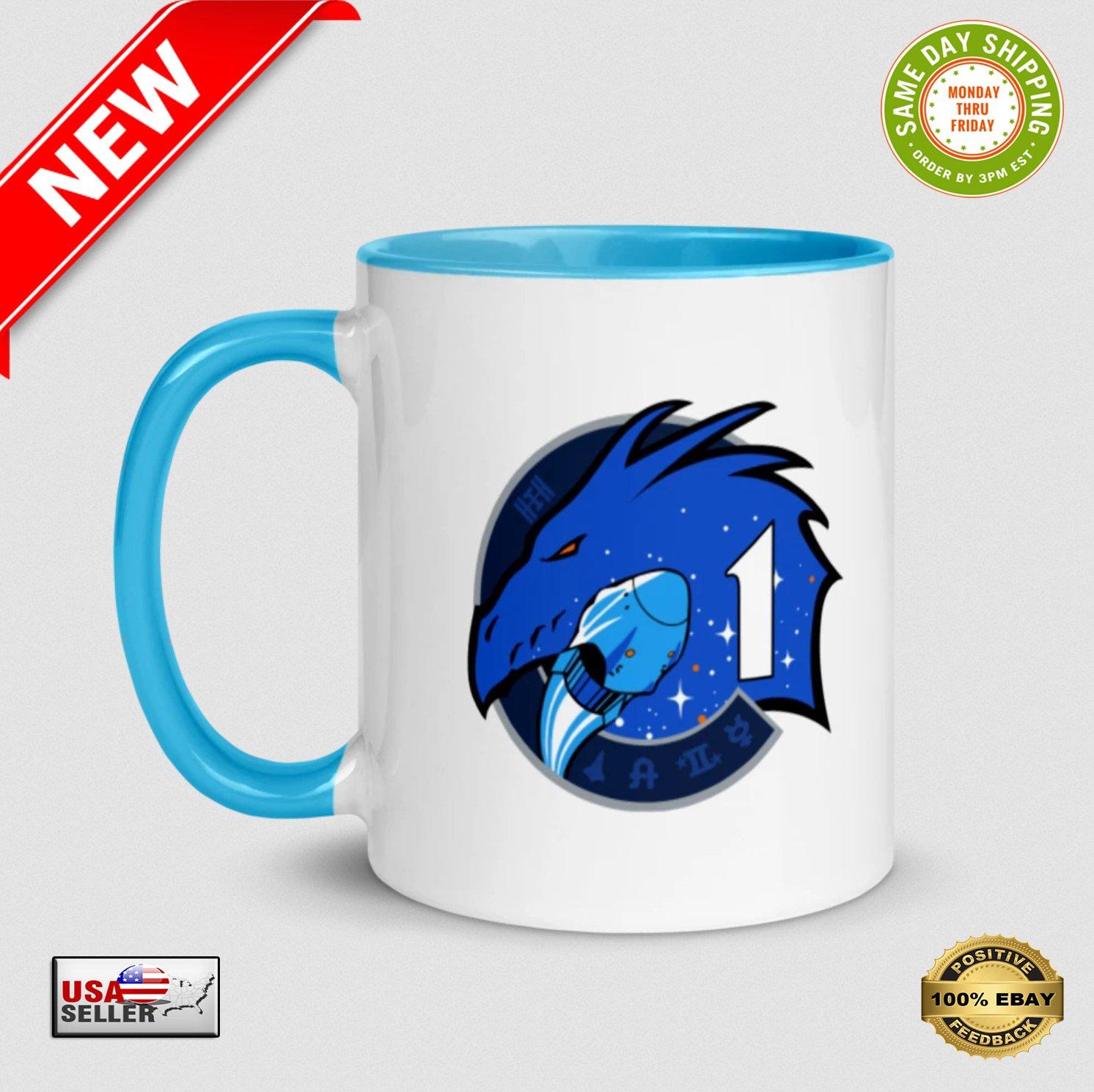 � NASA Crew 1 Dragon Spacecraft Ceramic Coffee / Tea Drinking Mug - NEW �