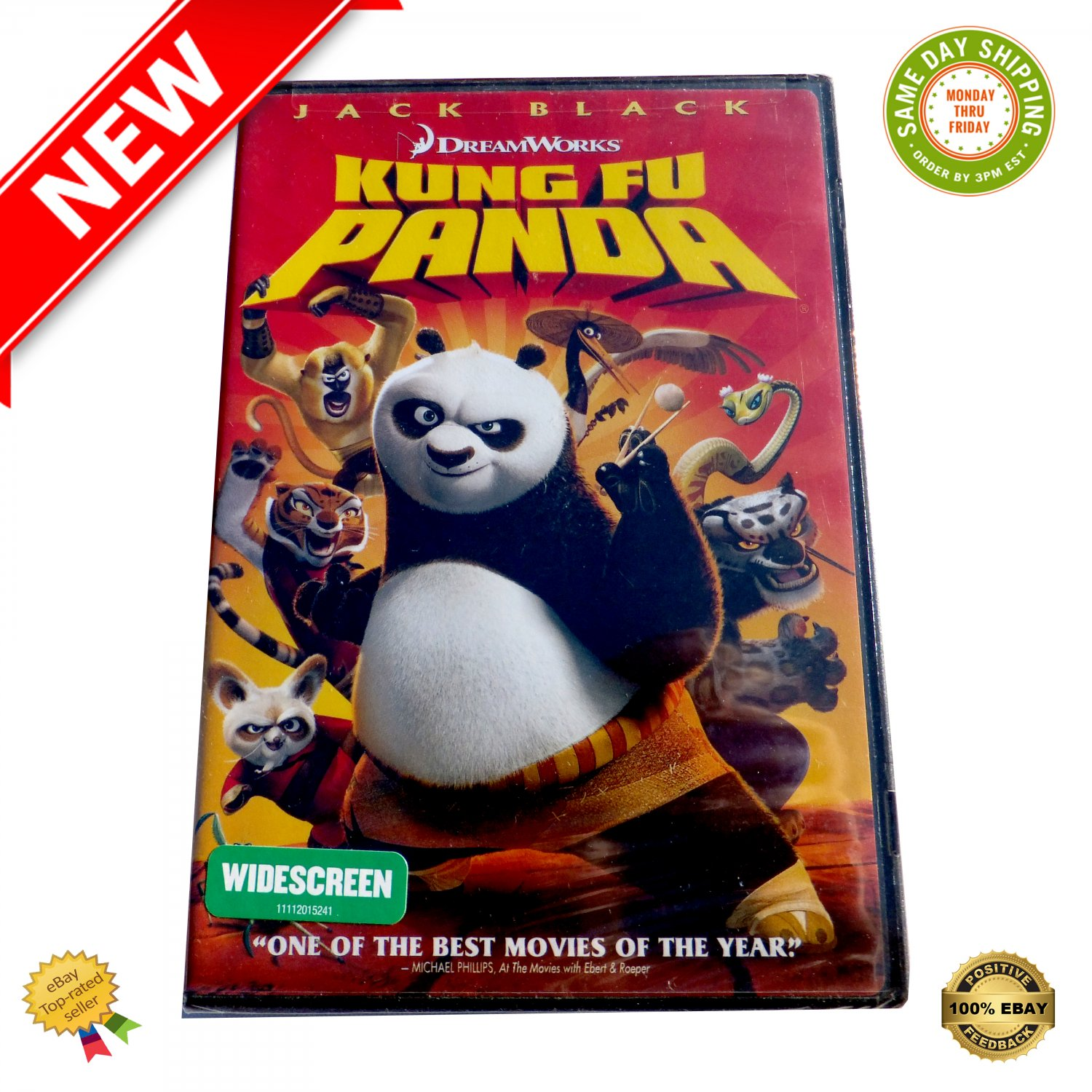 � Kung Fu Panda The Movie Dreamworks (Widescreen Edition) DVD - NEW �
