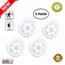 ★ 4pcs/set PIR Motion Sensor Day/Night Detection LED Cabinet Light with Magnet ★
