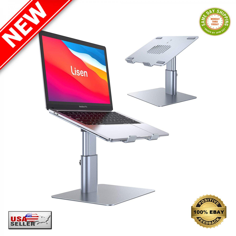 � Laptop Notebook Stand Holder Riser for Desk Adjustable Angle & Height - NEW �