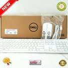 ★ Dell KB216-WH-US Slim Wired Keyboard + White Dell Optical White Mouse BUNDLE SET ★