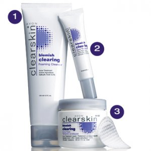 avon clearskin blemish clearing acne pads NuFACE Trinity + Trinity ELE Attachment Set