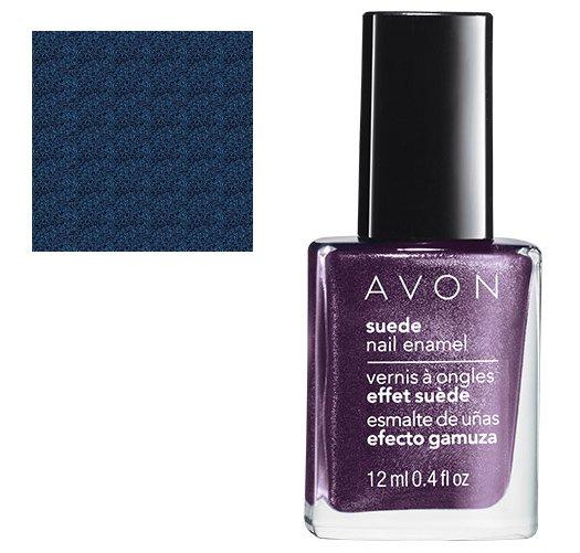 Suede Nail Polish: Blue Royale: Matte Blue Suede Shimmer Nail Polish