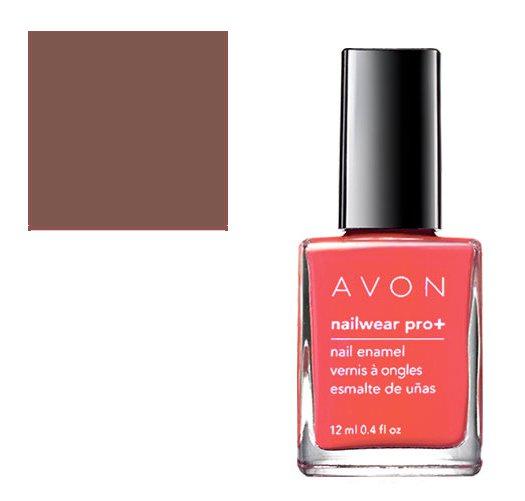 Avon Pink Nail Polish: Vintage Boutique: Nailwear Pro Nail Enamel