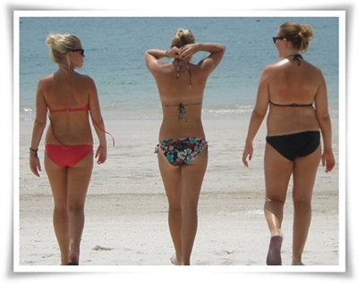 Women Bikini and Beach Image JPEG