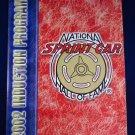 National Sprint Car Hall of Fame 2002 Induction Souvenir Program