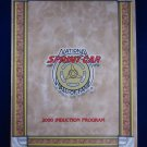 National Sprint Car Hall of Fame 2000 Induction Souvenir Program