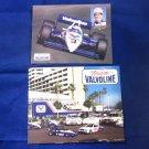 Al Unser Jr. - #3 Promo Cards 1980's Team Valvoline Galles Racing Photo Postcard