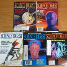 Vintage - SCIENCE DIGEST - Magazine Lot  - from 1988 and 1989 - 76956142125