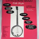 Harry Reser's Five String Banjo Folk Style: A Method and Collection