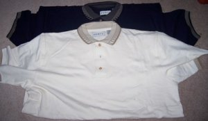 Mens 2 Men's Polo Style Shirts XXL