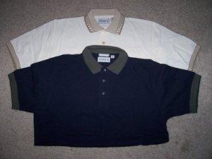 Men 2 Men's Polo Style GOLF Shirts L