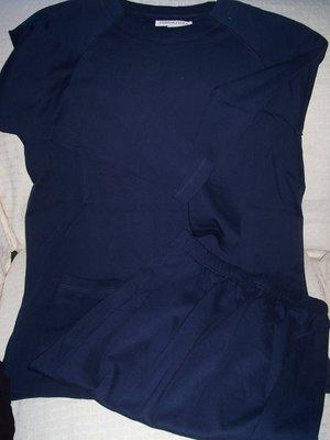 FREE SHIPPING!! Skirt Set Dark Blue Size Small