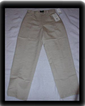 Petite Tan Casual Pants Style and Co Size 6P