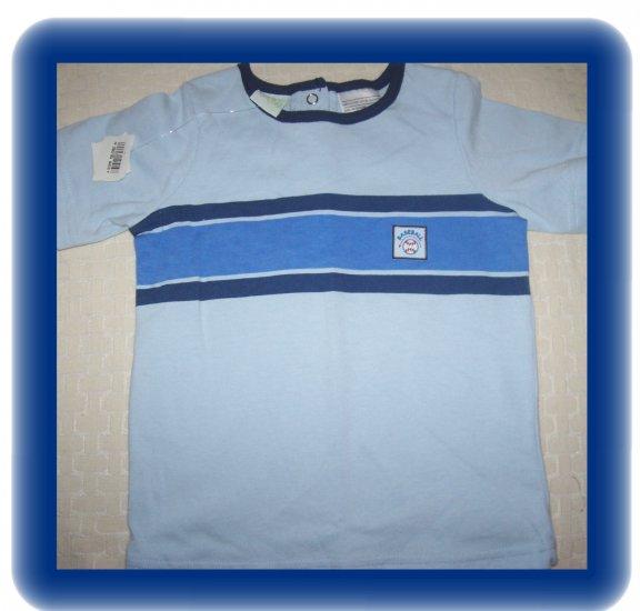FREE SHIPPING!!  Boy's Baseball T shirt size 12M month BRAND NEW