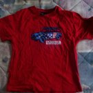 FREE SHIPPING Gently Used Red oshkosh Boys 3/3T Tshirt