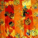 FREE SHIP Halloween Jack o Lantern Scarf Orange 20X20
