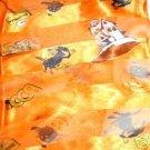 FREE SHIP Halloween Cute Witch Scarf Orange 20X20