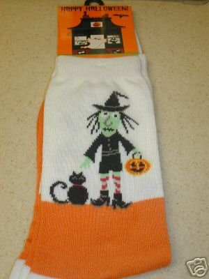 FREE SHIP BRAND NEW Halloween Socks Witches