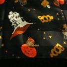 FREE SHIP Halloween Cute Scarf Black BOO 20X20