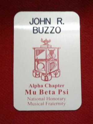 Coat of Arms Name Badge