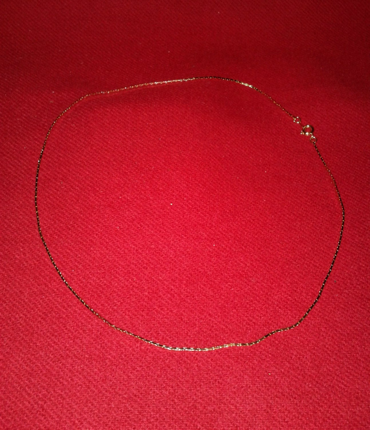 """20"""" Gold-plated Cobra Chain"""