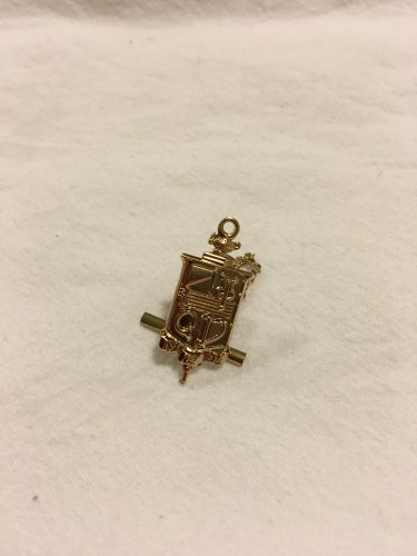 Brother's Key Tie Tack