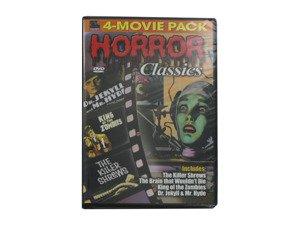 Horror Classics 4-movie DVD