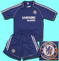 CHELSEA HOME KIDS FOOTBALL KIT SOCCER SHIRT CHILDRENS  S-XXL