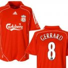 LIVERPOOL HOME SOCCER FOOTBALL SHIRT XL+ANY NAME