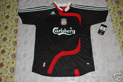 NEW LIVERPOOL AWAY Football Soccer shirt XL+ANY NAME