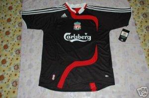 NEW LIVERPOOL AWAY Football Soccer shirt XL+ANY NAME