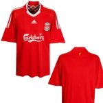 NEW 0809 LIVERPOOL HOME SOCCER SHIRT +ANY NAME& NUMBER