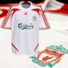 LIVERPOOL AWAY W FOOTBALL SHIRT FREE NAME&NUMBER