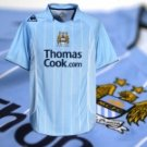 MAN CITY HOME  FOOTBALL SHIRT M FREE NAME&NUMBER