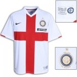 INTERMILAN AWAY  FOOTBALL SHIRT XL FREE NAME&NUMBER