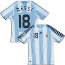 ARGENTINA HOME  FOOTBALL SHIRT XL FREE NAME&NUMBER