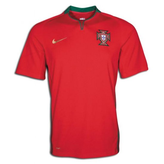 PORTUGAL HOME  FOOTBALL SHIRT XL FREE NAME&NUMBER