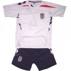 ENGLAND HOME  FOOTBALL KIDS KIT SET FREE NAME&NUMBER  S-XXL