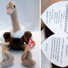 Ty Beanie Baby Stretch the Ostrich