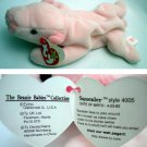 Ty Beanie Baby Squealer the Pig 4005