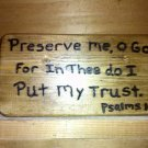 Preserve Me