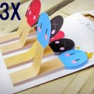 3X Match Post-it Cute Sticky Memo Paper Sticker Bookmark Note Pad Stationery