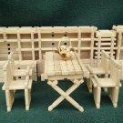 Wooden Building Toy, 86 piece hardwood block set, educational toy, children's construction toy