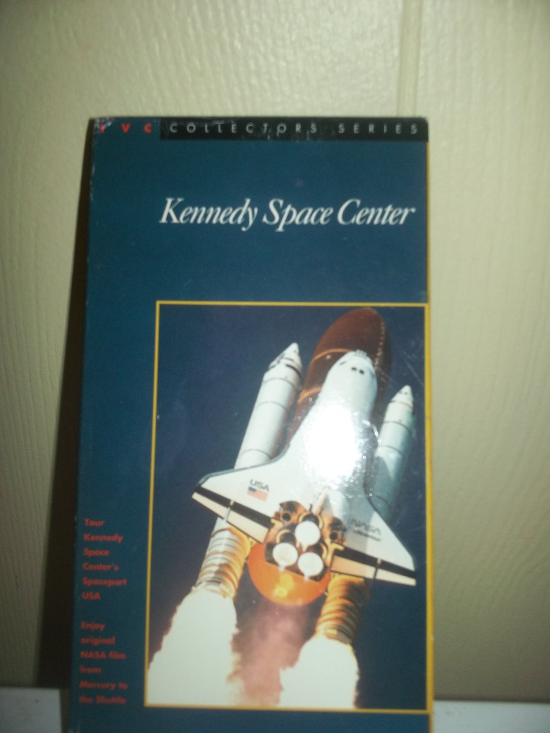 Kennedy Space Center VCR Tape